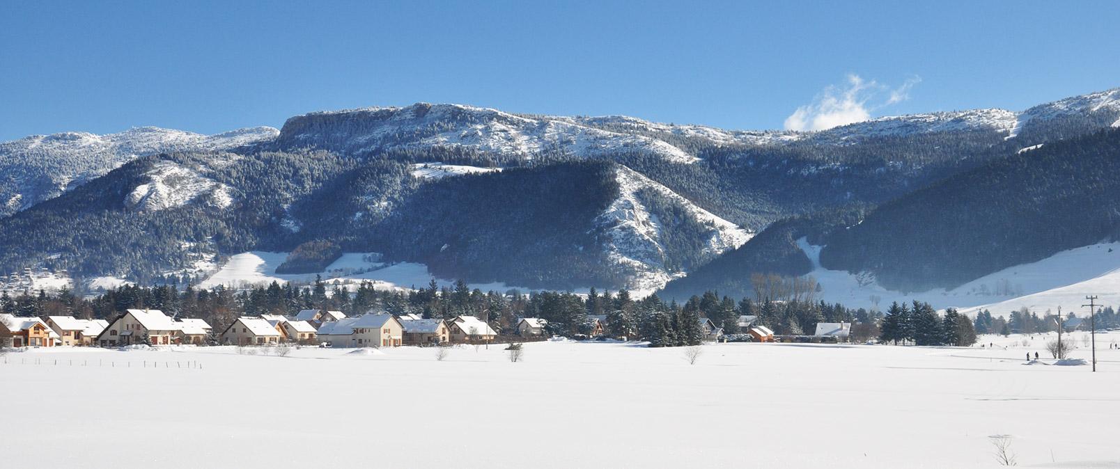 Lans en Vercors, version hiver